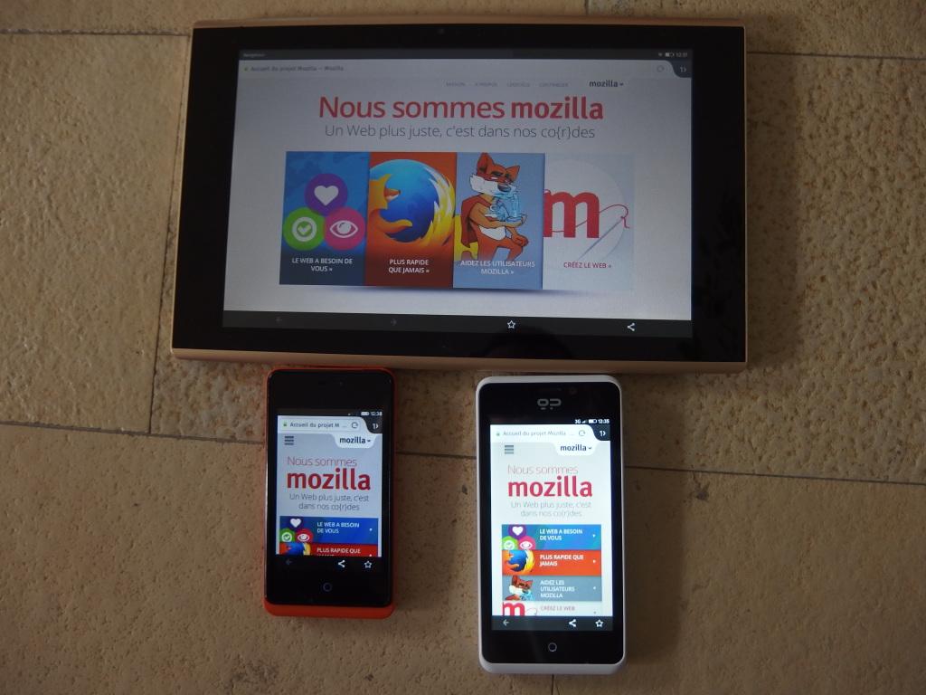 Tablette Flatfish, Geeksphone Keon et Geeksphone Peak